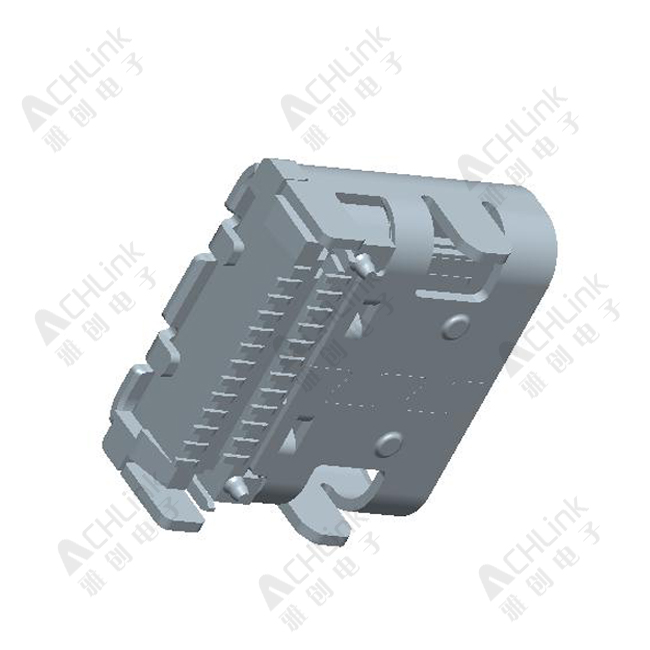 USB CONNECTOR CF 24PIN SMT TYPE TOP MOUNT