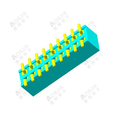 Female Header1.27MM double row smt H=3.4MM