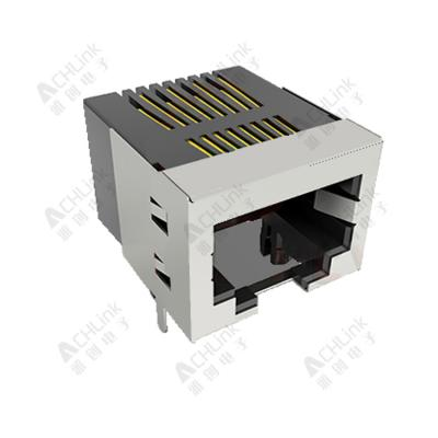 RJ45 CONNECTOR 8P8C 90° HALF SHELL-1